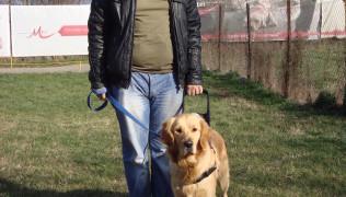 Панчо с куче водач Жан
