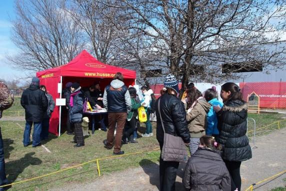 Ден на отворените врати в училището за кучета водачи с храните Хусе