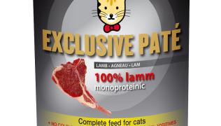 Котешка консерва – EXCLUSIVE PATE LAMB