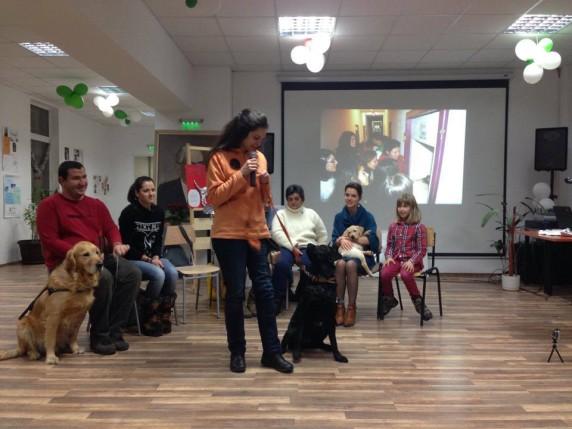 куче от станиол-представяне