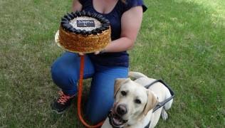 Честито на Десислава Георгиева и първото й дипломирано куче водач Мартин Мтел!