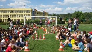 """Среща с учениците от I до IV клас на Anglo-American school of Sofia по проект """"Светът на слепите хора"""", финансиран по програма """"Ти и Lidl за по-добър живот""""-12.09.2018"""