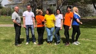 Да посрещнем слънчевите дни с дарението на Димитър Димитров от фирма Clean up и фирма Pallteх.