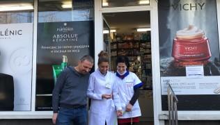 Благодарим на Красимира Раданова и нейните колеги от аптека Авицена, които осигуриха лекарства и храна за един месец на две служебни кучета!