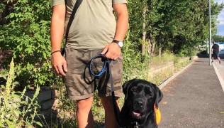 Новата ни двойка – Венелин и Немо, куче сигнализиращо за диабетни кризи!