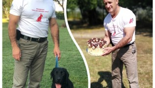 Честито на инструктор Явор Крумов и дипломираният Рем, който е обучен да сигнализира при диабетни кризи!