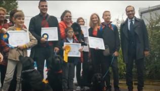 SUPER GLUCODOG – Церемония по награждаването на дипломирани кучета асистенти, сигнализиращи за хипогликемии.