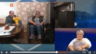 """БНТ предаването """"Открий ме"""" – продължение на историята на Светлана и нейното куче асистент Рока 09.05.21"""